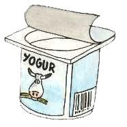20060711224703 yogur Hoy me he comido un yogur caducado.